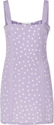 Solid & Striped Mini polka dot dress