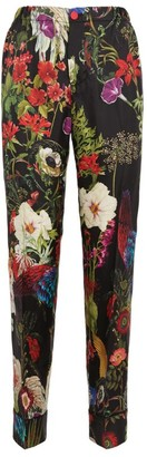 F.R.S For Restless Sleepers Silk Floral Trousers