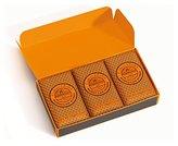 Crabtree & Evelyn Triple Milled Soap Set for Men, Moroccan Myrrh