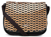Kipling Women's Earthbeat Medium Cross Body Bag - Woven Tobacco