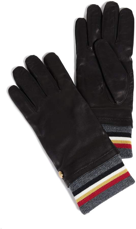MAISON KITSUNÉ Ribbed Gloves