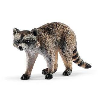 Schleich Hand-Painted Figure Raccoon