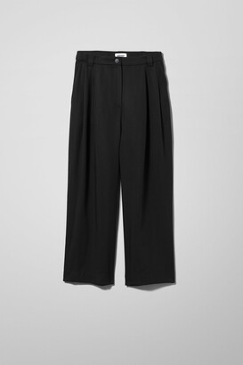 Weekday Alizie Trousers - Black