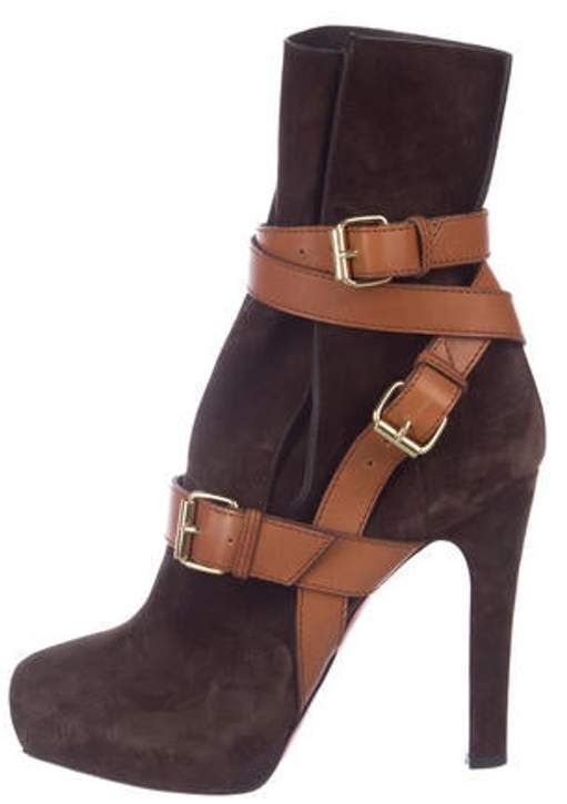 d6e940fe35c Suede Ankle Boots Brown Suede Ankle Boots
