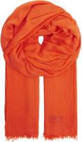 Armani Collezioni Herringbone weave scarf