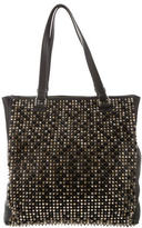 Christian Louboutin Panettone Spiked Shopper Tote