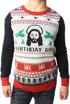 Ugly Christas Sweater Woen's Jesus Birthday Boy Pullover Sweater