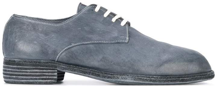 Guidi vintage ball derby shoes