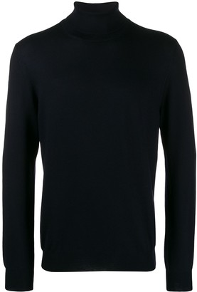 Fay knitted roll neck