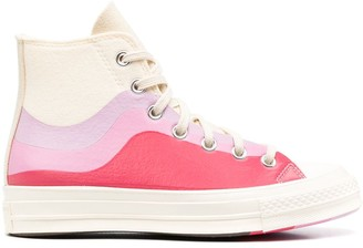 Converse Nor'easter colour-block high-top sneakers
