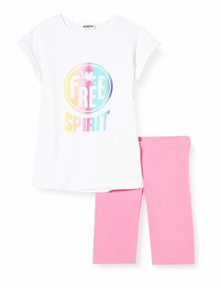 MEK Girl's Compl.t-Shirt Con Ciclista Clothing Set