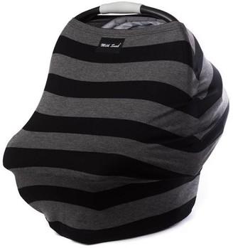 Milk Snob Multi Use Baby Car Seat Cover Bold Black & Grey