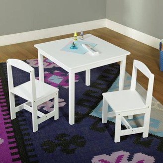 TMS Hayden Kids 3-Piece Table and Chair Set, Multiple Colors