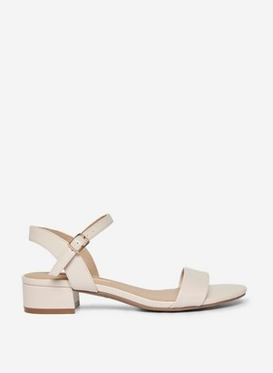 Dorothy Perkins Womens Wide Fit Nude 'Sprightly' Sandals