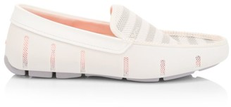Swims Venetian Striped Mesh Loafers