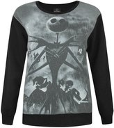 Disney Official Nightmare Before Christmas Sublimation Women's Sweater (L)