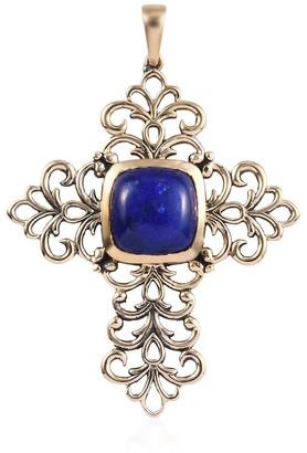 Shop Lc Boho 950 Platinum Lapis Lazuli Cross Pendant Ct 9