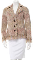 Missoni Wool Fringe-Trimmed Jacket