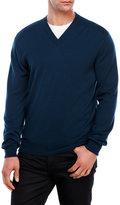 Dunhill Merino V-Neck Sweater