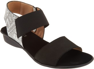 Sesto Meucci Leather Color Block Sandals - Eirlys