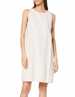 Yargıcı Yargc Womens 9YKEL7154X Round Collar Sleeveless Dress - Multicolour - 10