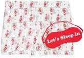 Jenni by Jennifer Moore Printed Boxer Pajama Shorts and Eye Mask Set, Only at Macy's