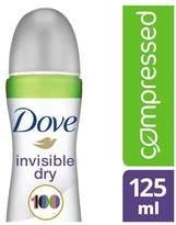 Dove Invisible Dry Aerosol Deodorant Compressed 125ml