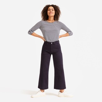 Everlane The Wide Leg Crop Pant