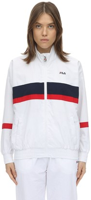 Fila Urban Logo Zip-up Nylon Track Jacket
