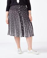 Penningtons MELISSA McCARTHY Pleated Printed Skirt