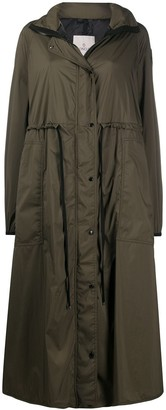 Moncler Long Trench Coat