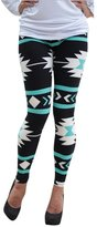 eronde Womens Printed Leggings Pants Elasticity Skinny Stretchy Soft Modal