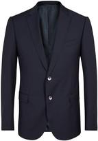 Armani Collezioni M-line Navy Wool Blazer