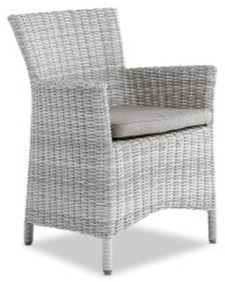 Wisteria Designs Saint Croix Outdoor Dining Chair Weathered Grey