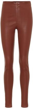 Zeynep Arã§Ay High-rise skinny leather pants