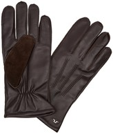 J.lindeberg Milo Dark Brown Leather Gloves