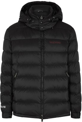 Valentino Moon Dust black printed shell jacket