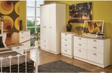 Swift Charlotte 3 Piece Ready Assembled Package - 5 Drawer Chest and 2 Bedside Chests