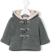 Il Gufo hooded duffle coat - kids - Cotton/Polyester/Viscose - 9 mth