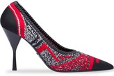 Prada Knit fabric pointy toe pumps