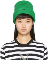 Noah NYC Green Core Logo Beanie