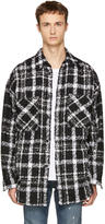 Faith Connexion Black and White Check Overshirt