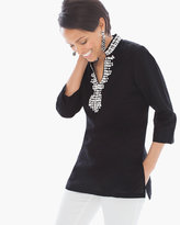 Chico's Embellished Kurta Tunic