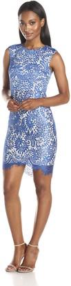 Minuet Women's Sleeveless Sheath Dress