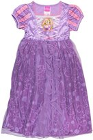 Disney Princess Rapunzel Girls Fantasy Gown Nightgown