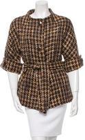 Kate Spade Tweed Short Sleeve Jacket