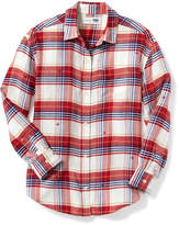 Old Navy Plaid Boyfriend Tunic for Girls