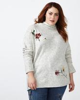 Penningtons d/c JEANS Embroidered Sweater