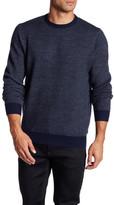 Toscano Barleycorn Tonal Crew Sweater