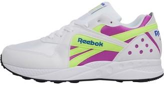 Reebok Classics Pyro White/Vicious Violet/Neon Yellow/Crushed Cobalt